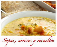 - Sopas, Arroces y Revueltos